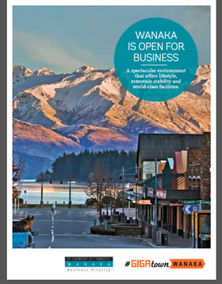 Wanaka Open For Business booklet