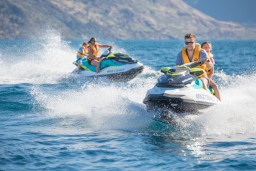 Hydro Attack strikes again with the first jet ski tours in Queenstown Bay
