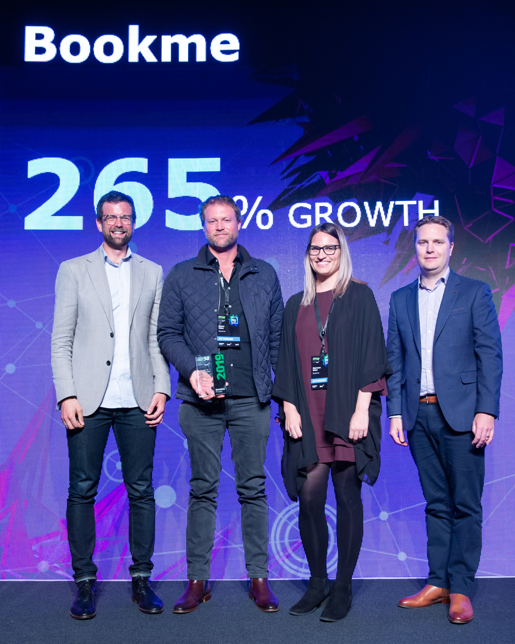Major accolades for Kiwi success story Bookme